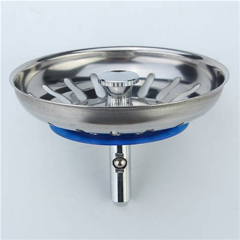 Kitchen Sink Plugs Strainers 304 Stainless Steel Kitchen Sink Strainer Stopper Waste Sink Filter Alex Nld