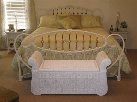 wicker chair for bedroom white wicker bedroom furniture style house design
