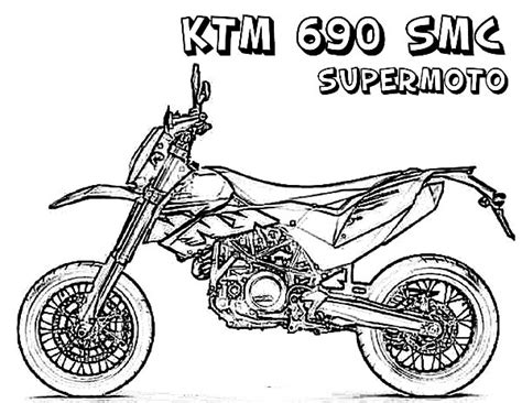 ktm motorcycle coloring pages ktm motorbike coloring pages