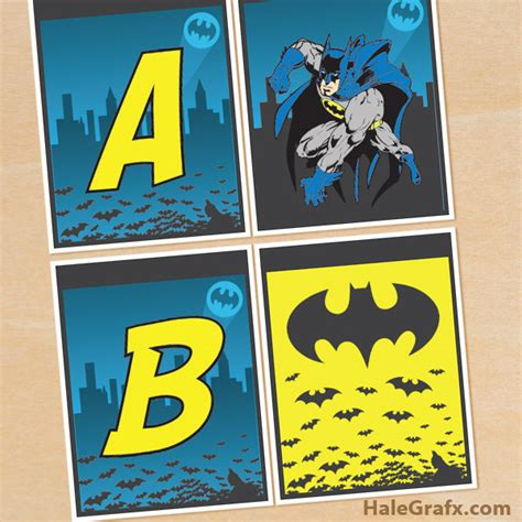 printable batman poster free printable batman alphabet banner pack free