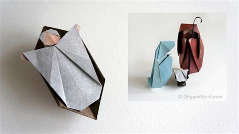 Origami Child - how to make an origami nativity the child part 3 of 3