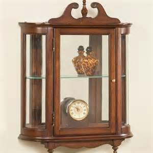 Antique Butler Curio Cabinet Butler Wall Curio Cabinet Amp Reviews Wayfair