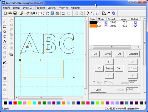 3d Laser Cutter Software by Lasercut Software For Lasercutting Engraving Metaquip Bv
