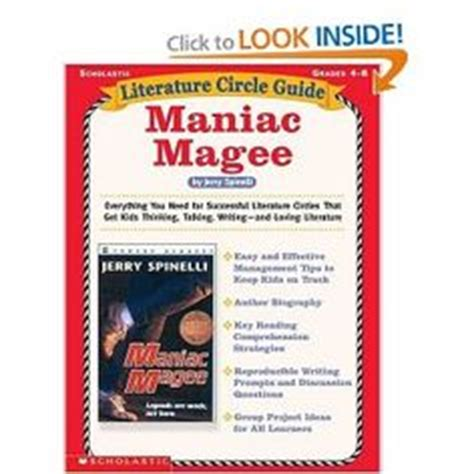 theme literature circle maniac magee themes wordle multi genre author project
