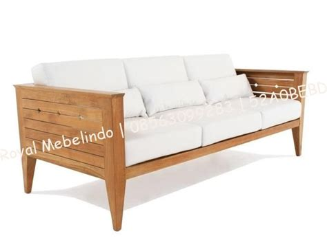 Sofa Kayu Jati jual sofa minimalis kayu jati sofa minimalis kayu jati kini hadir dengam model yang lebih