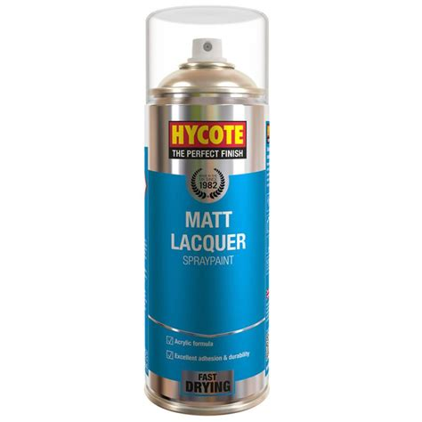 spray paint top coat matt clear lacquer spray paint hycote 400ml aerosol