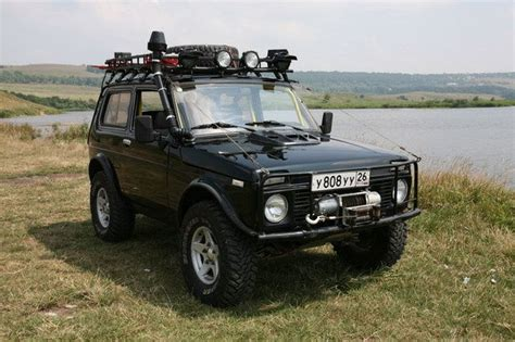 Lada Niva Offroad What S The Prettiest Truck Ranges And