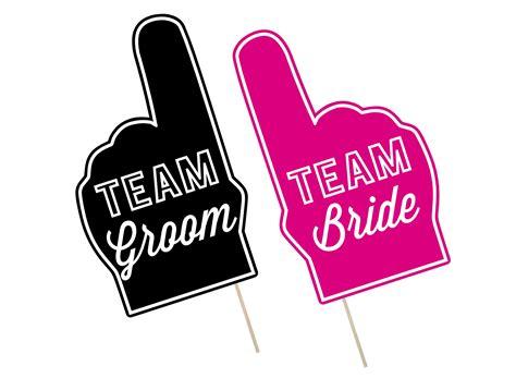 printable photo booth props wedding printable wedding photo booth props team groom bride