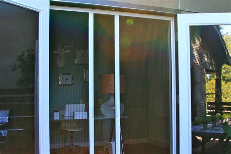 plisse door retractable screen gallery
