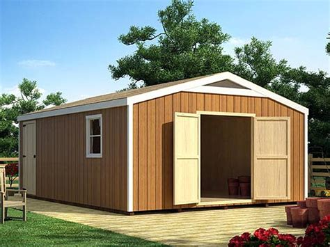 woodwork large storage building plans pdf plans