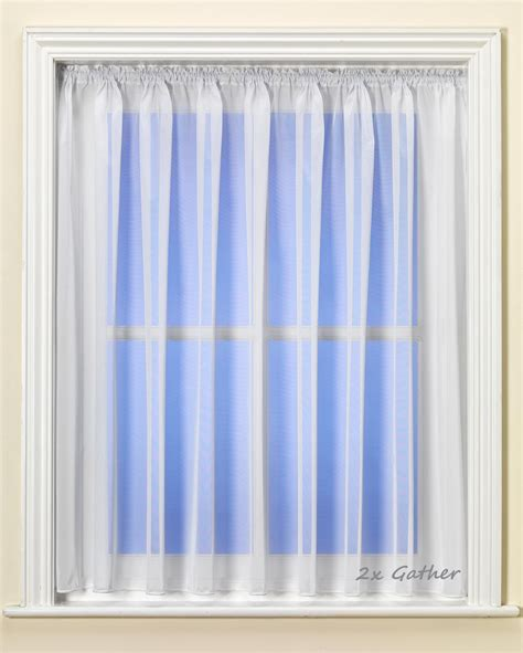 lead curtain plain fire retardant net curtain with lead weight hem roll