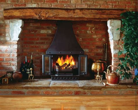 Wood Burning Stove In Fireplace by Dovre 1800 Multifuel Wood Burning Fireplace Stove