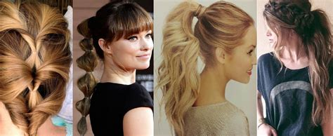 Hairstyles With Hair by Best Ponytail Hairstyles For All Hair Types