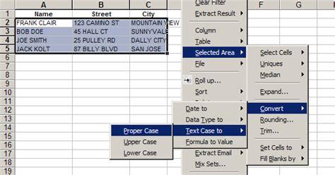 excel format uppercase text convert excel case upper case lower case proper case