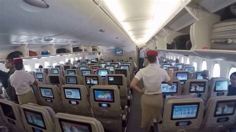 Airbus A380 Interni Airbus A380 Emirates Inside Before Flight Dubai