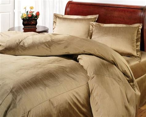 gold silk comforter duvet cover sale down comforter and silk on pinterest