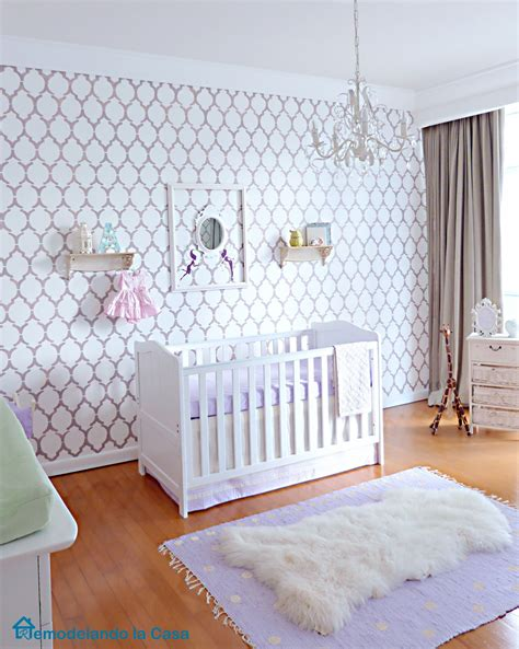 wallpaper for baby bedroom antonia s stylish nursery remodelando la casa