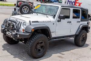 Jeep Rubicons For Sale 2012 Jeep Wrangler Rubicon Unlimited White For Sale
