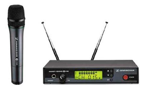 Microphone Mic Wireless Senheiser Ew 545 G2 Uhf Vokal Professional sennheiser ew545 uhf diversity handheld wireless mic kit
