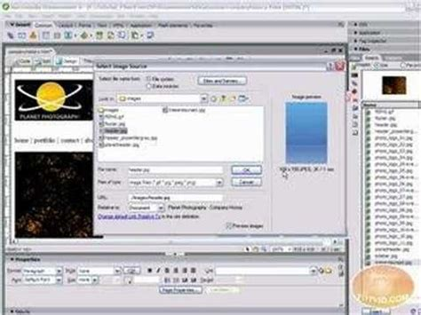 tutorial photoshop dreamweaver website 17 best images about dreamweaver tutorials on pinterest