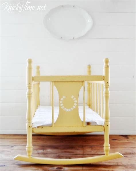 Baby Doll Crib Plans Vintage Cradle Makeover Vintage