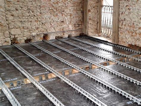 travi a traliccio rinforzo strutturale metallico per solai sistema