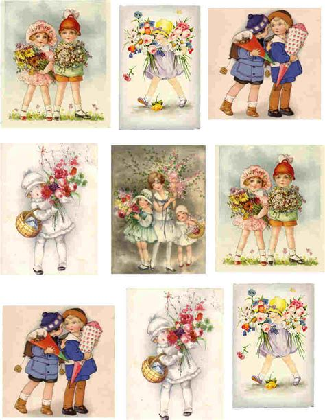 Free Decoupage Sheets - decoupage paper printable images