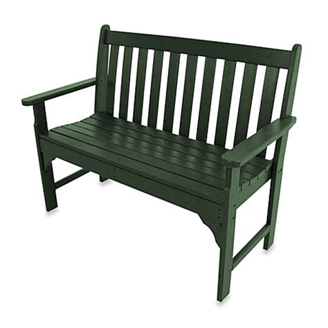vineyard bench polywood 174 vineyard bench bed bath beyond