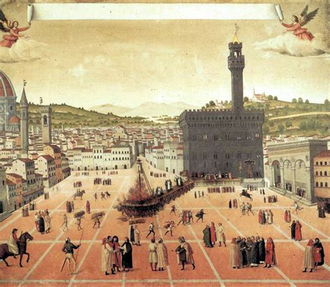 Bonfire Of The Vanities Savonarola the nest history of christianity the renaissance