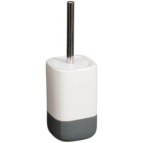 dipped coloured toilet brush holder home bathroom bm