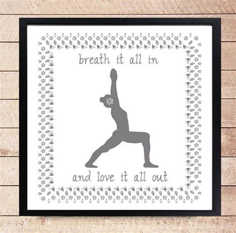 free printable yoga quotes design poster printable art print yoga quote by
