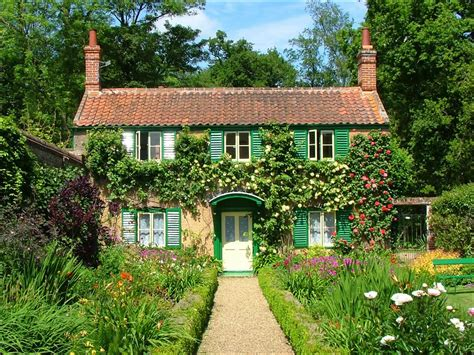 cottages gardens norfolk summer including beaches flowers fetes sunsets