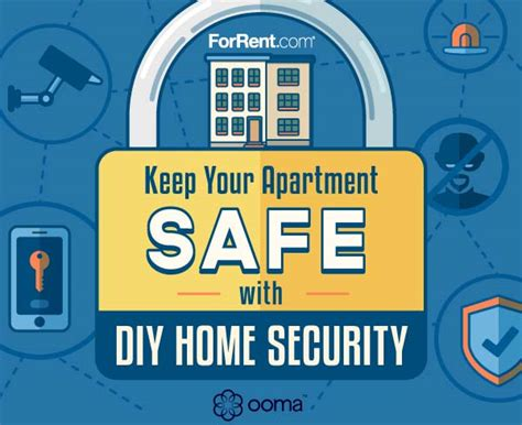 keeping your apartment safe with diy home security