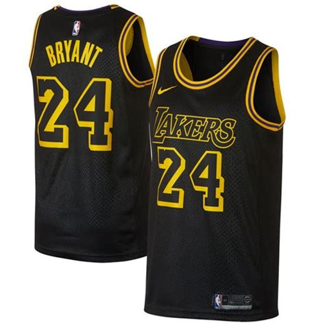 Jersey Authentic Nike Bryant Lakers Black Nba Stitched Jersey Sz wholesale lakers 1 d angelo purple stitched nba jersey at uniformgate