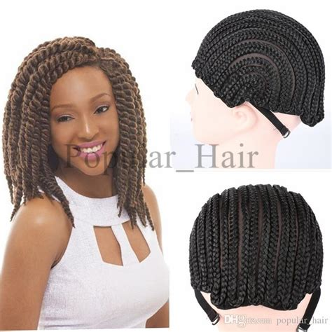 pics of cornrow braided wig popular black cornrow wig caps for making wigs with