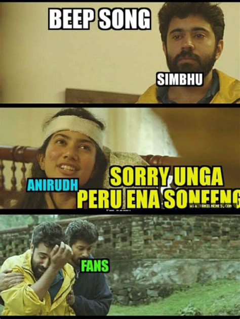 Memes Song - simbu memes on beep song issue