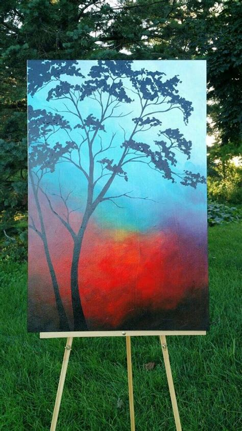 acrylic paint on canvas beginners 60 easy acrylic canvas painting ideas for beginners