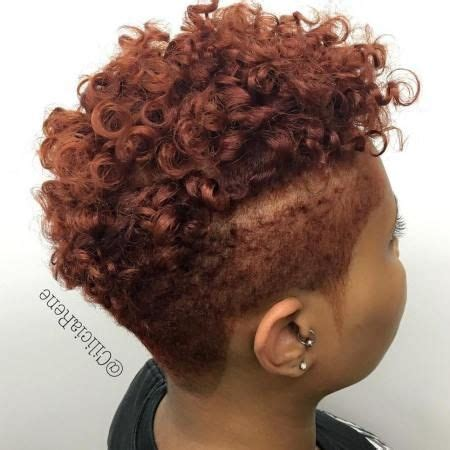 twa with long pieces on each side of hair 40 cute tapered natural hairstyles for afro hair short