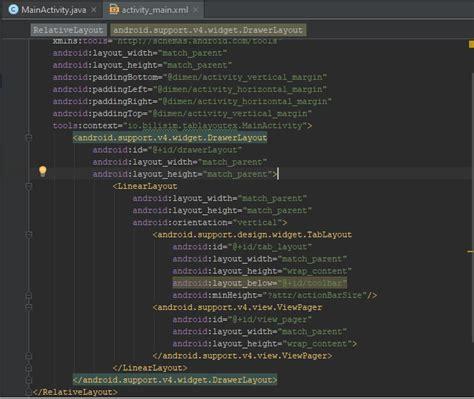 java layout kullanimi android tablayout kullanımı bilişim io yazılım mobil