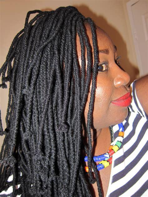 pics of yarn braid hair curvy geekery a labor of love yarn braids