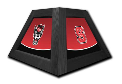nc state pool table light nc state wolfpack pendant light