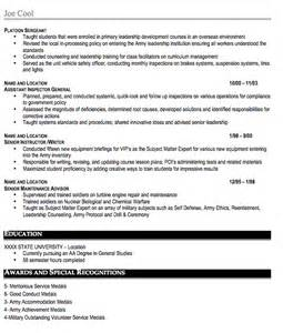 pics photos military resume sample free resume template