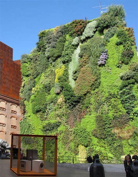Vertical Garden Madrid Vertical Garden In Madrid