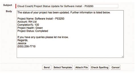 easily standardize project communications using salesforce