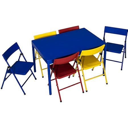 safety st  piece childrens table  chairs set