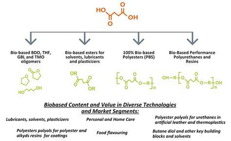 advancing adhesives bio based succinic acid polyester