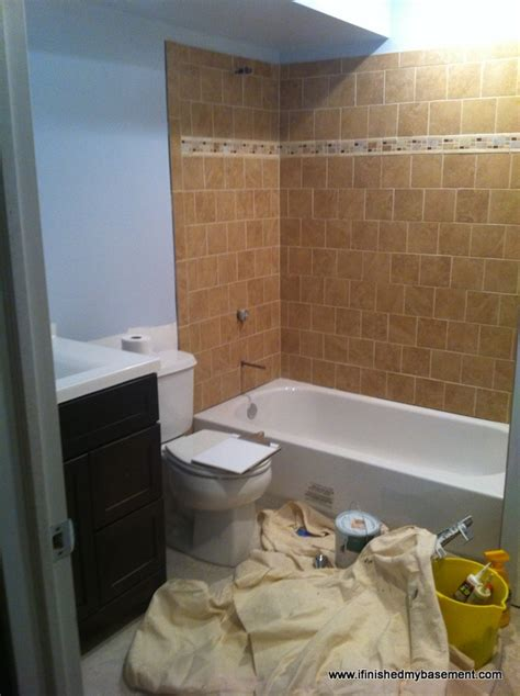 Cost To Tile Bathroom Shower Bathroom Costs 30 Of Your Budget I Finished My Basement