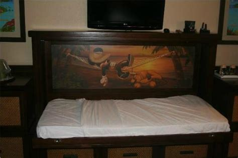 murphy beds orlando hidden murphy bed open picture of disney s caribbean