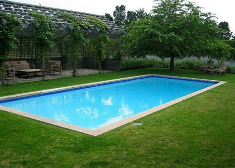 square swimming pool rectangle pool love the grass and arbor with creeping vibe