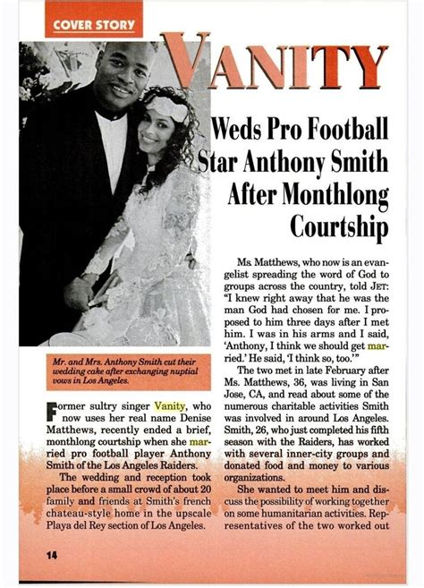 vanity s marriage to anthony smith article